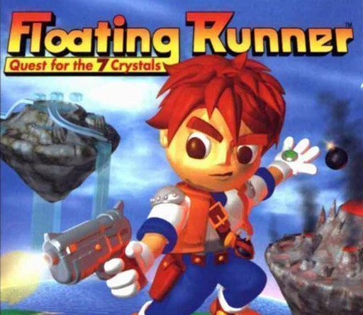 Floating Runner - Quest for the 7 Crystals