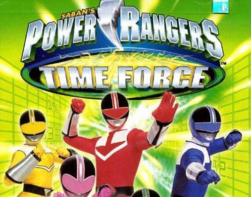 Power Rangers Time Force Ps1fun Play Retro Playstation Psx Games